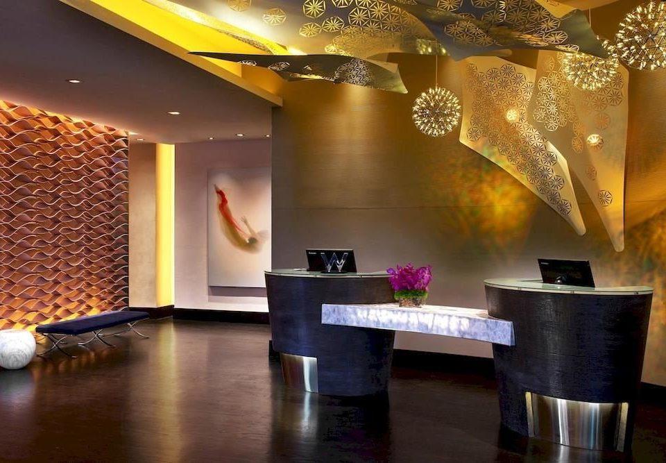 City Lobby Modern function hall lighting restaurant Bar ballroom