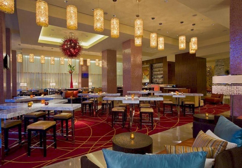 Bar City Lounge Modern function hall restaurant ballroom café set