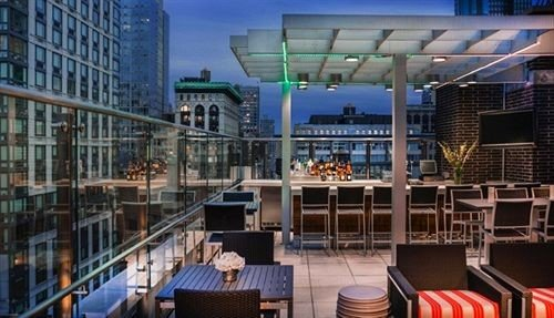 City Modern Rooftop library plaza Bar