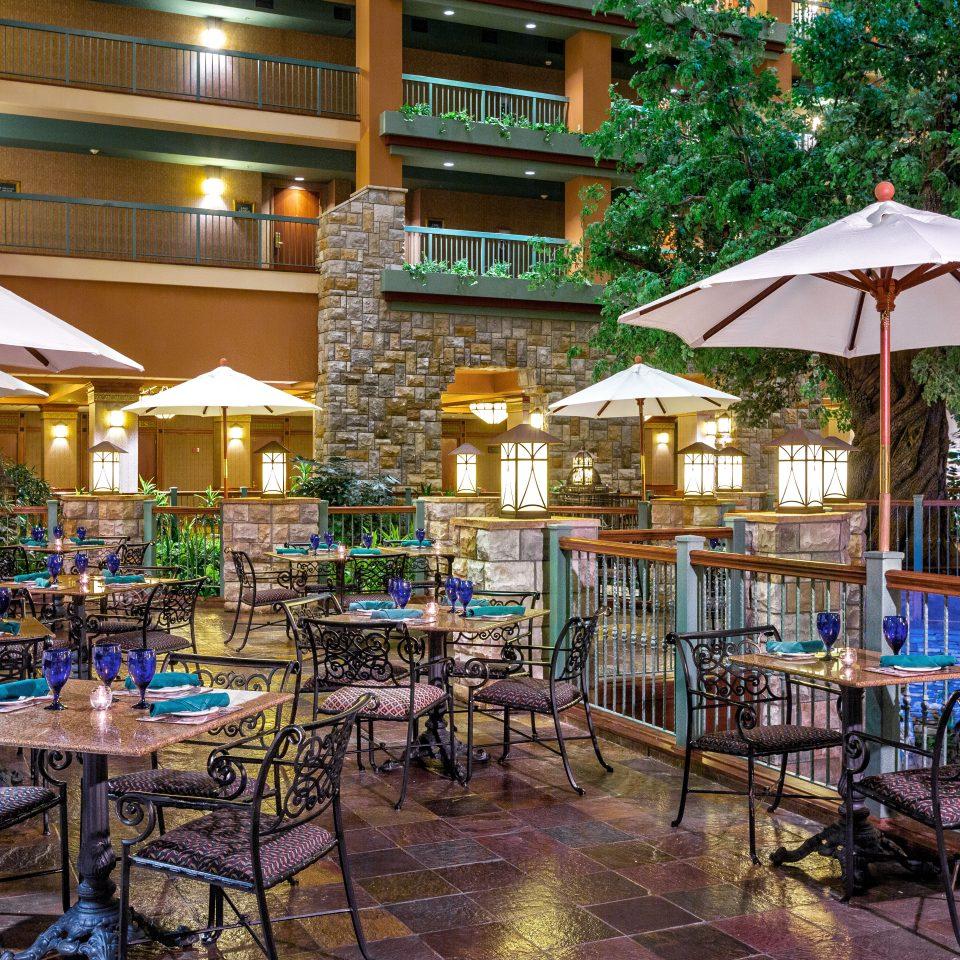 Classic Deck Dining Drink Eat Lounge Patio Resort Terrace chair restaurant Bar set