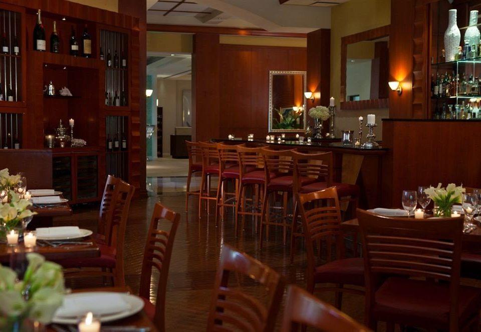Classic Dining chair restaurant function hall Lobby Bar set dining table