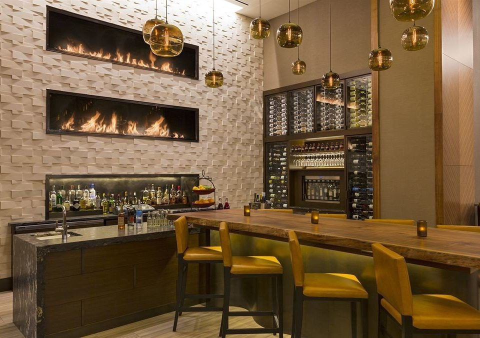 Bar Classic Drink Fireplace Lounge Resort chair restaurant café stone