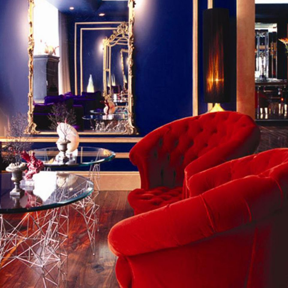 Classic Lounge Luxury restaurant Bar red Lobby living room Fireplace leather