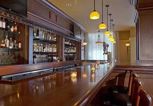 Bar Classic property building restaurant Resort Island