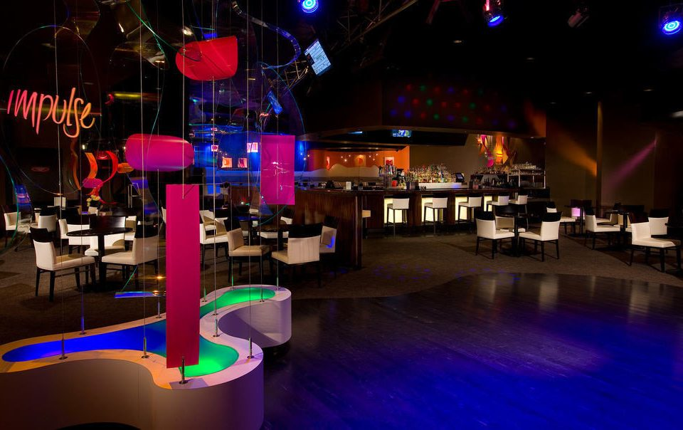 nightclub Bar club music venue colorful colored