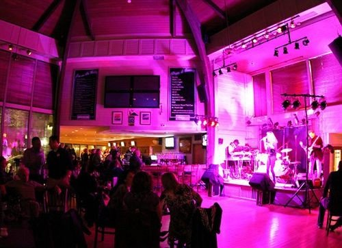 nightclub disco Bar stage music venue club night crowd