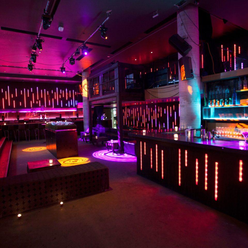 lit nightclub night Bar club music venue disco light