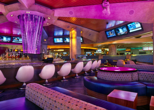 nightclub Bar function hall restaurant purple colorful