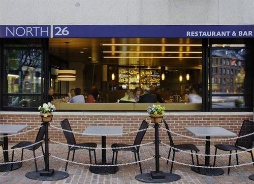 plaza restaurant Bar condominium retail