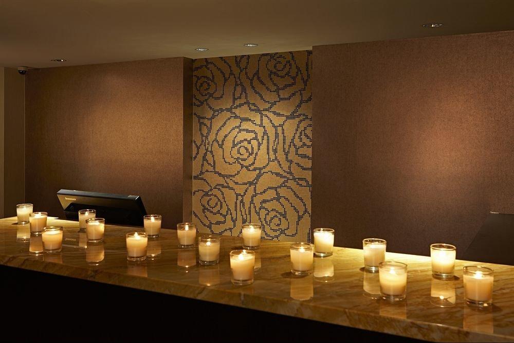 wine counter restaurant lighting function hall living room Bar