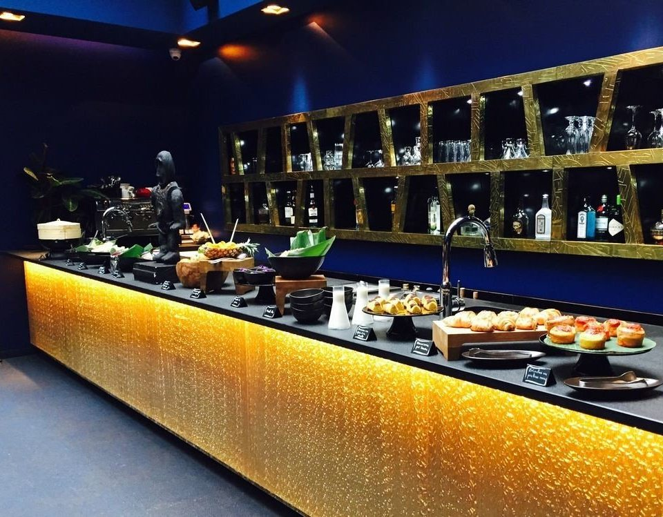 Bar restaurant counter function hall nightclub