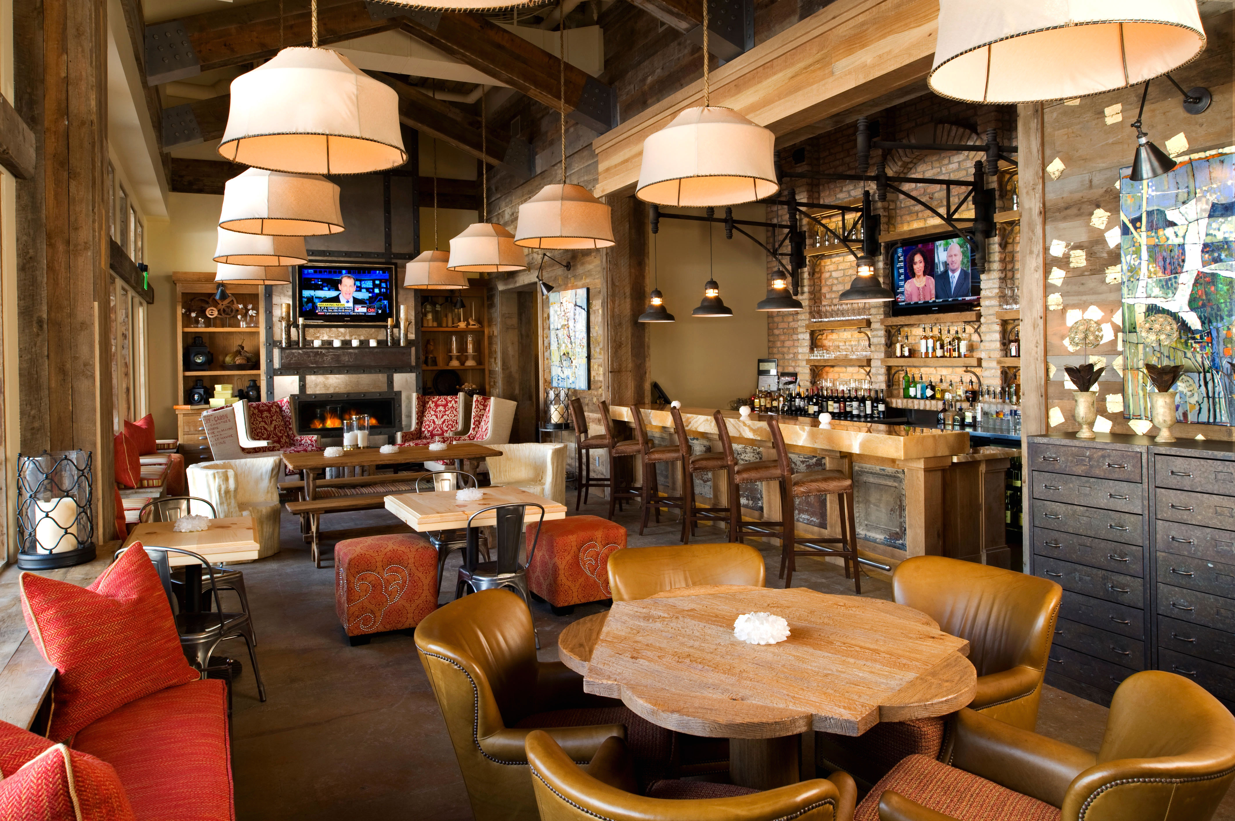 Country Dining Drink Eat Family Lodge Rustic restaurant Bar café Lobby Resort