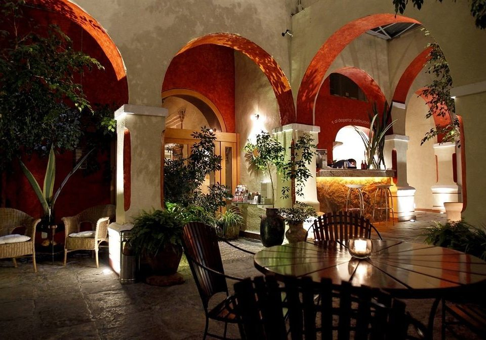 Bar Dining Drink Eat Luxury Modern Romantic building hacienda Lobby restaurant Courtyard arch