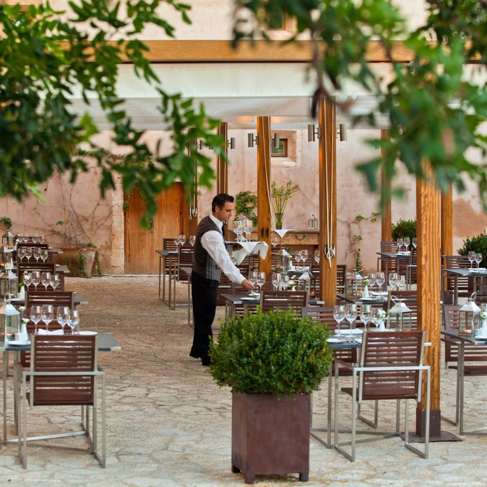Bar Dining Drink Eat Luxury Romantic Rustic tree ground chair Courtyard restaurant home aisle flower plant
