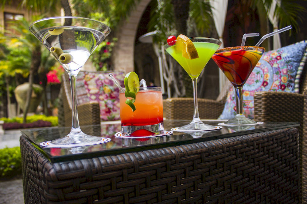 Bar Courtyard Drink Outdoors cocktail centrepiece