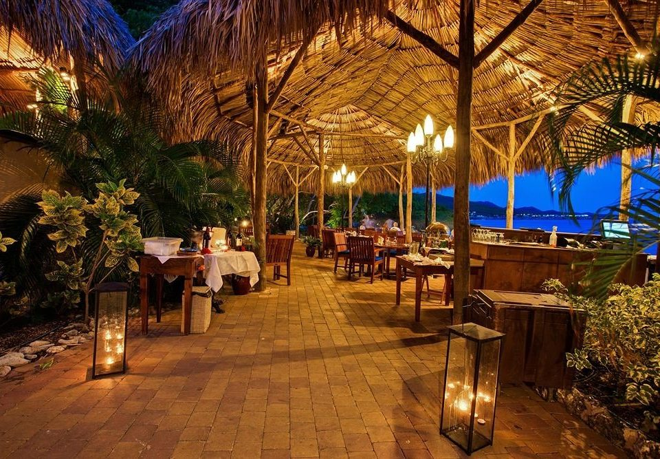 tree Resort restaurant hacienda Courtyard palace landscape lighting Bar