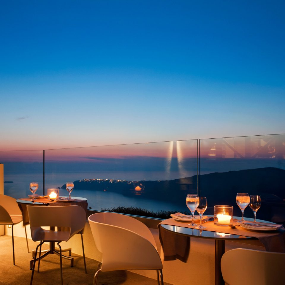 Bar Cultural Deck Dining Drink Eat Honeymoon Island Modern Romance Romantic Scenic views Sunset Waterfront sky night evening morning lighting restaurant dusk set
