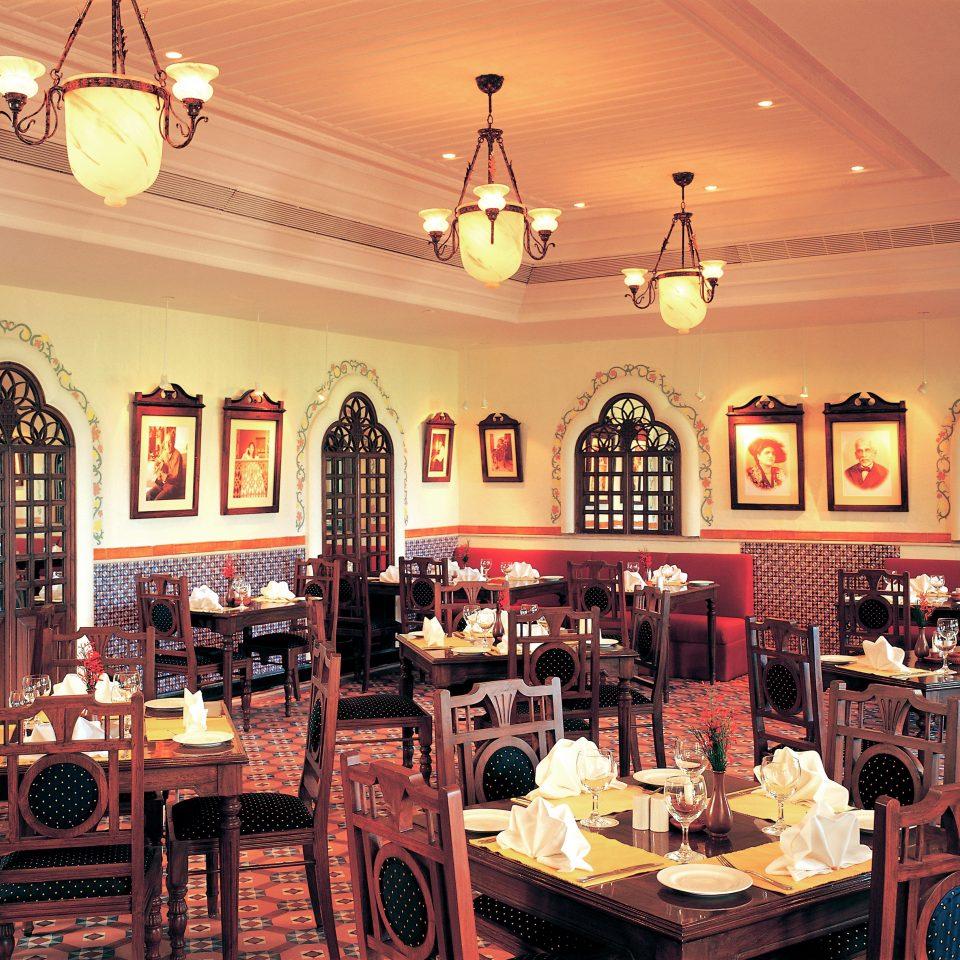 Cultural Dining restaurant Bar cluttered