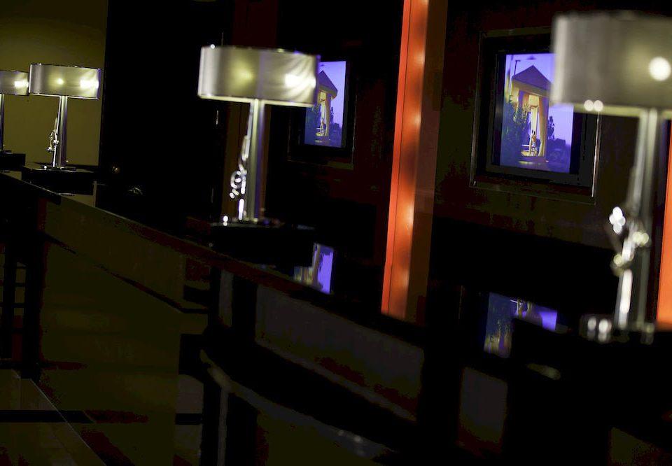 television light night darkness Bar lighting screenshot dark flat set