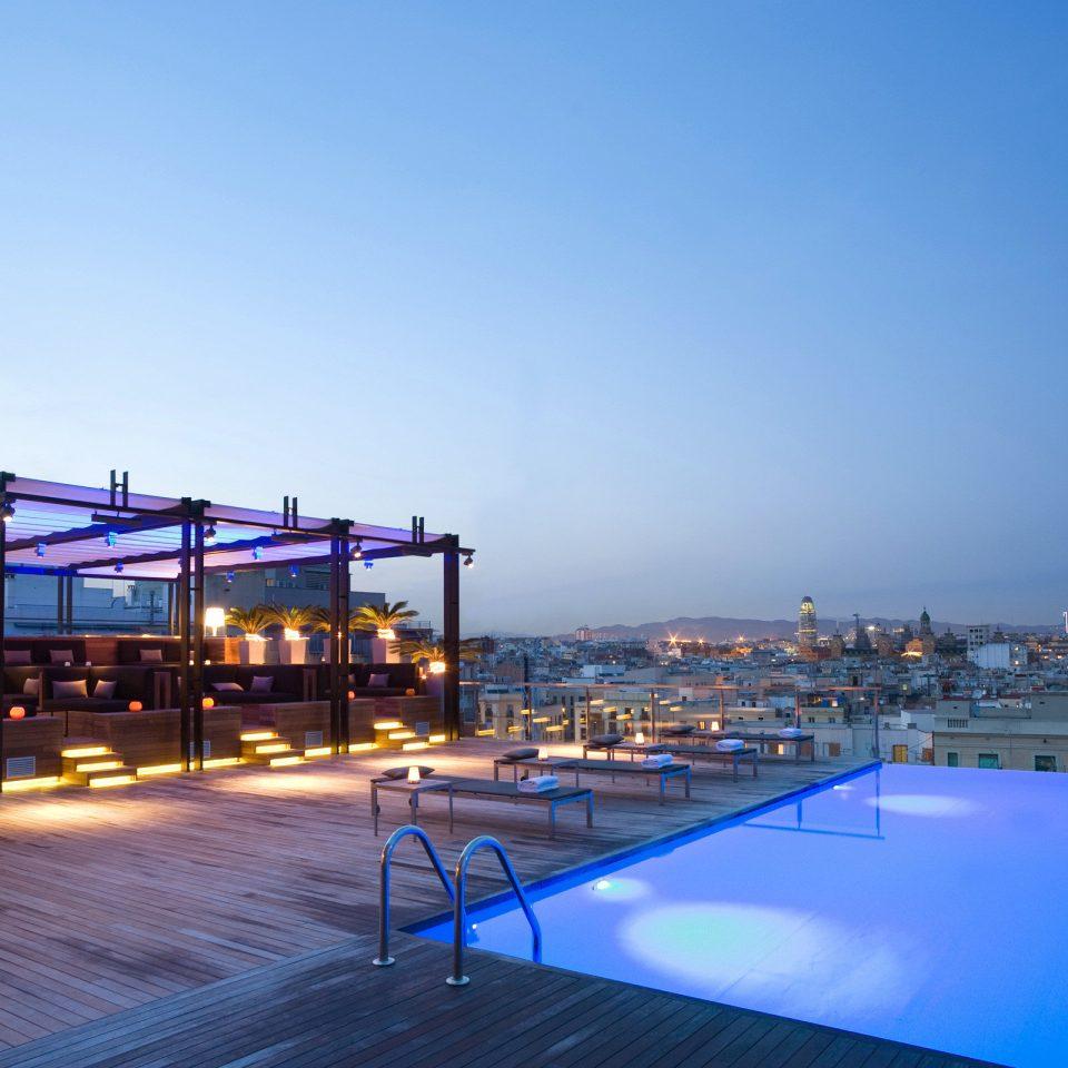 Bar Deck Dining Drink Eat Pool sky swimming pool marina Resort dock Sea