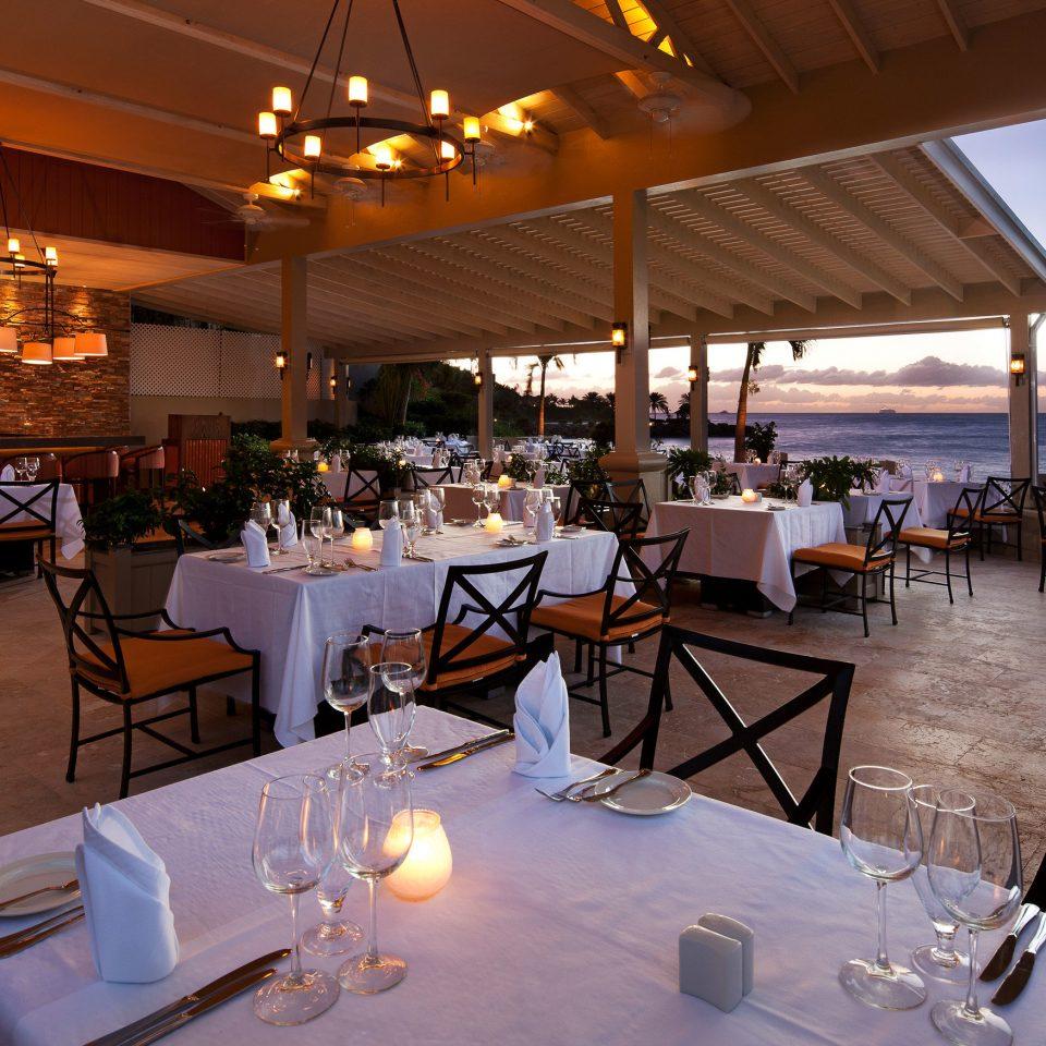 restaurant function hall Dining Resort Bar Deck Island
