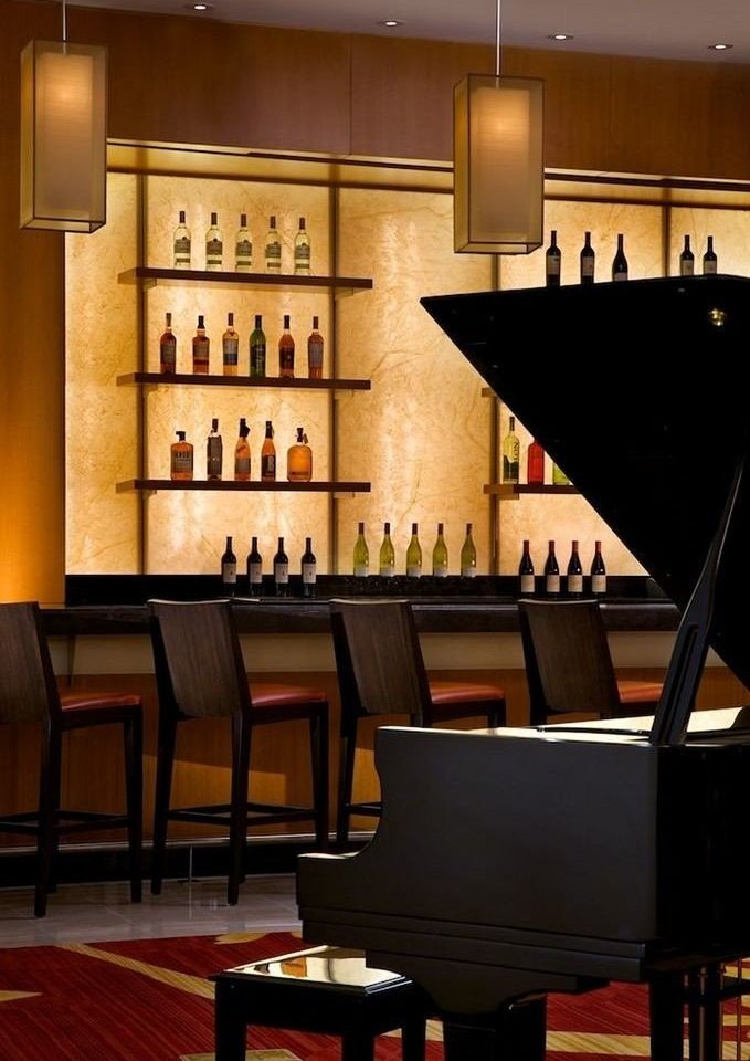 chair Dining restaurant Bar auditorium piano