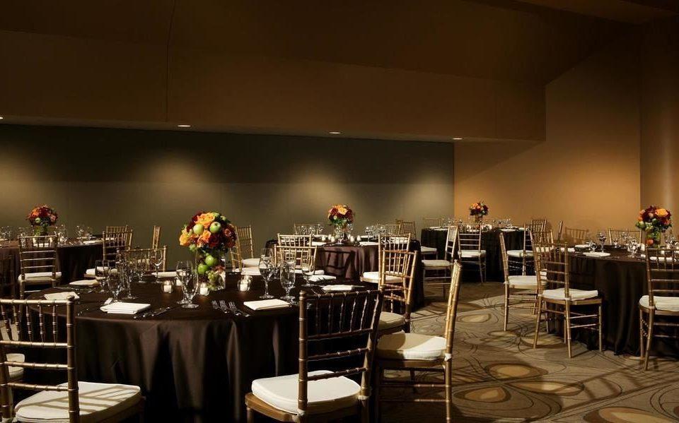 chair function hall Dining banquet restaurant wedding reception ballroom set Bar
