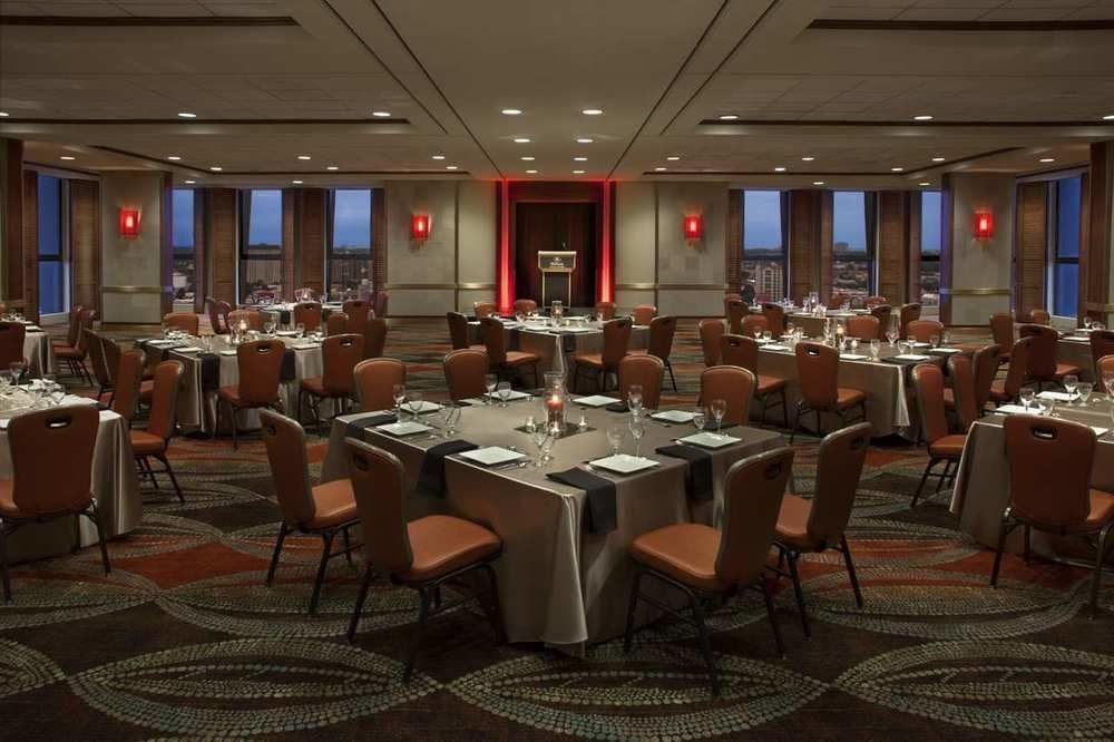 chair function hall banquet conference hall convention Dining restaurant meeting convention center ballroom Bar
