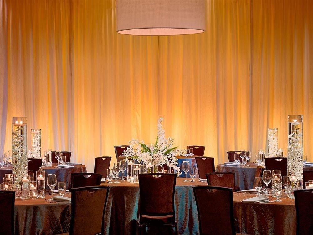 curtain function hall restaurant ceremony banquet Dining wedding ballroom wedding reception set dinner Bar