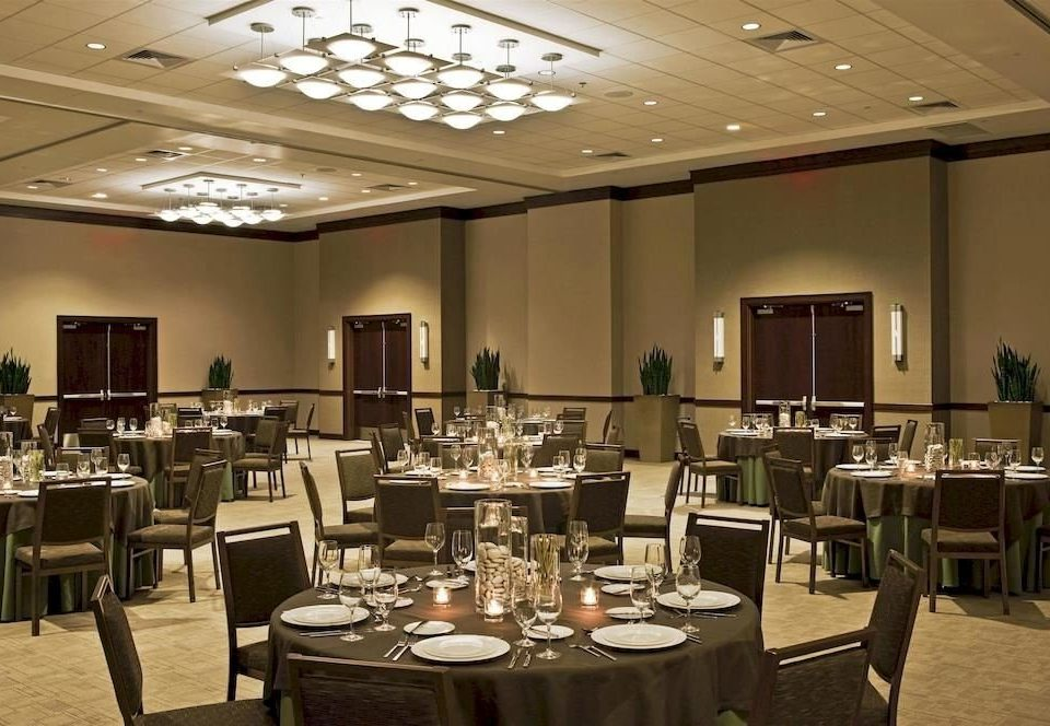chair function hall restaurant Dining conference hall ballroom convention center café cafeteria Bar