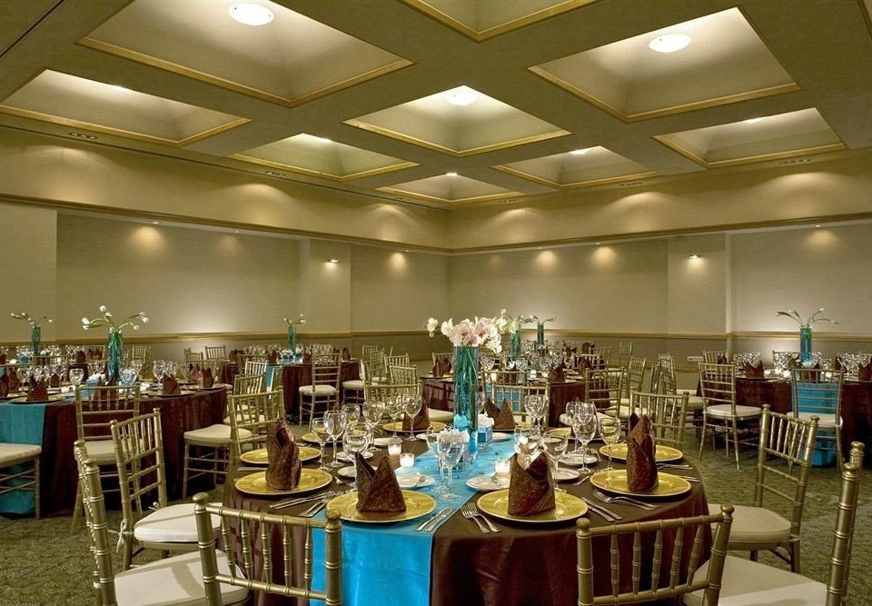 chair function hall convention center ballroom restaurant Dining set Bar