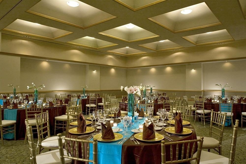 chair function hall convention center ballroom restaurant Dining set Bar