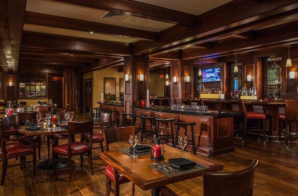 Bar recreation room billiard room restaurant café tavern Dining