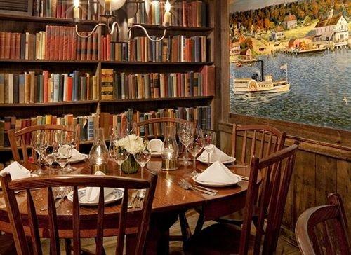 chair shelf book Dining restaurant library scene Bar set