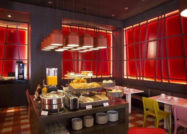 restaurant red Dining function hall buffet Bar café