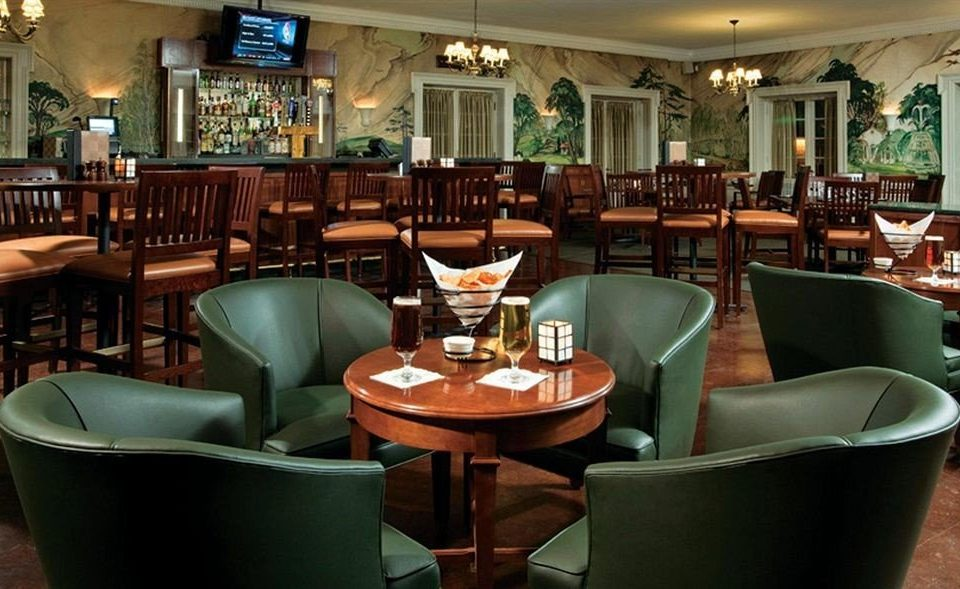 chair green restaurant Bar Dining café set
