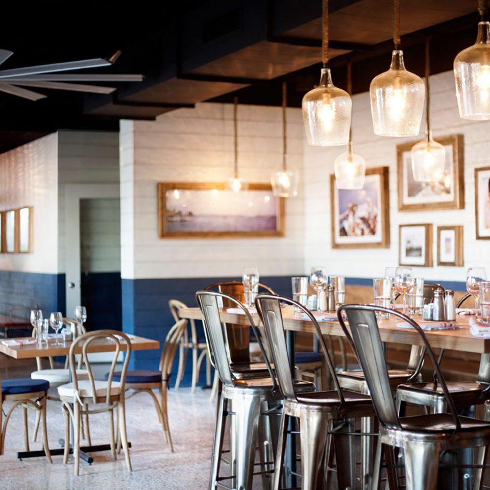chair Dining restaurant lighting home café Bar set dining table