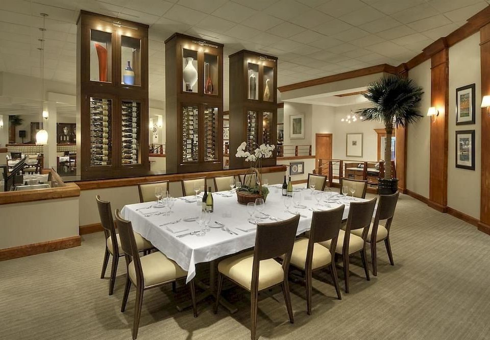 chair property restaurant function hall Dining café Bar dining table