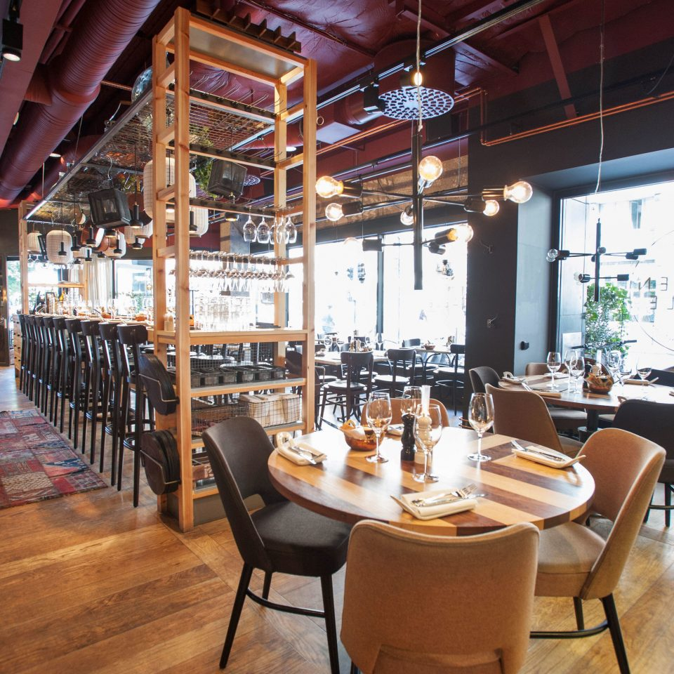 chair Dining restaurant café Bar