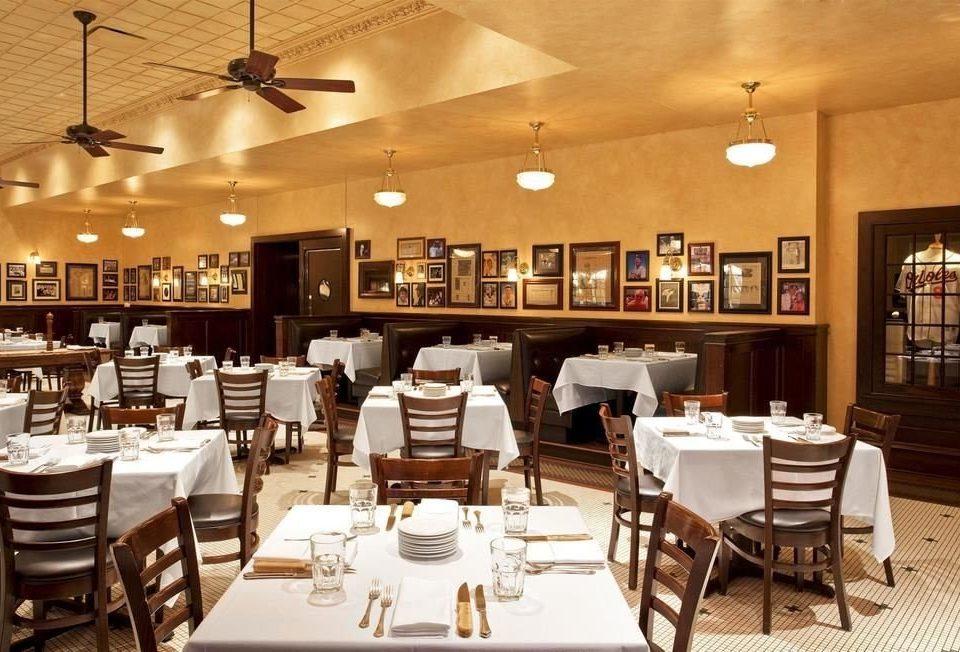 chair restaurant Dining function hall café Bar