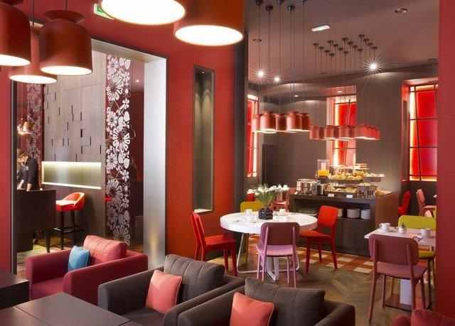 chair red restaurant Bar Dining café function hall