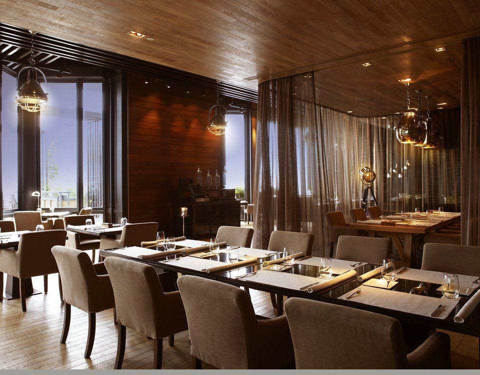 restaurant function hall café Dining Bar long
