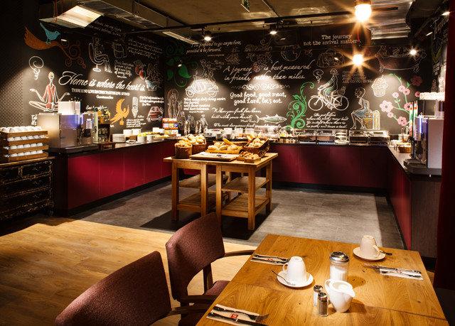 Bar restaurant Dining café