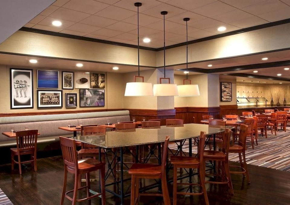 chair Dining restaurant function hall cafeteria café Bar