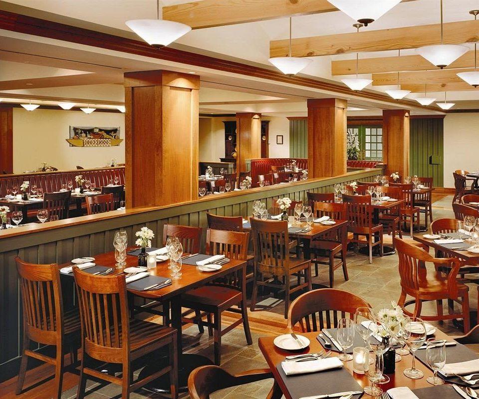Dining chair restaurant function hall cafeteria café Bar set