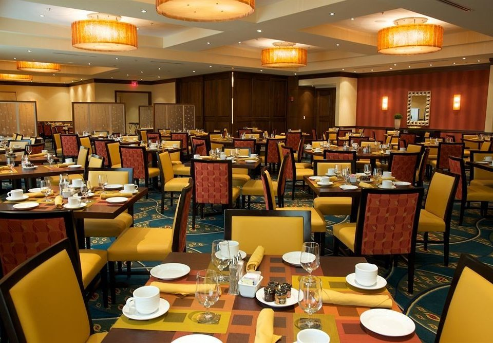 Dining restaurant function hall café cafeteria conference hall food court convention center Bar