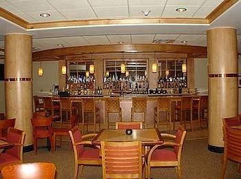 chair Dining scene restaurant function hall Bar convention center round set