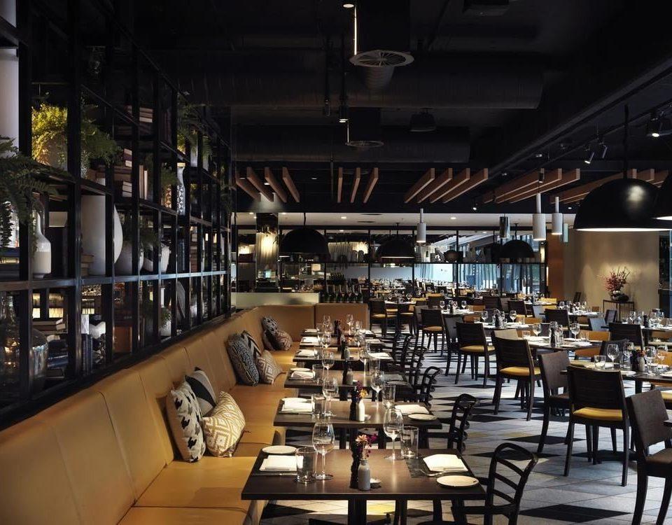 chair Dining scene restaurant Bar empty