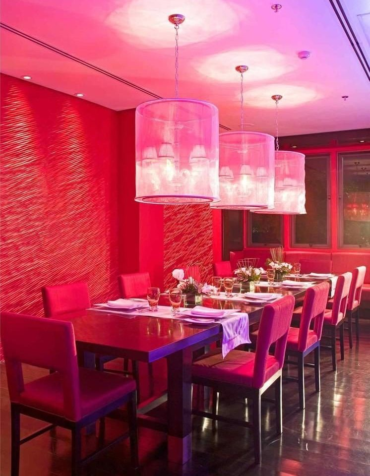 red chair Dining restaurant function hall Bar