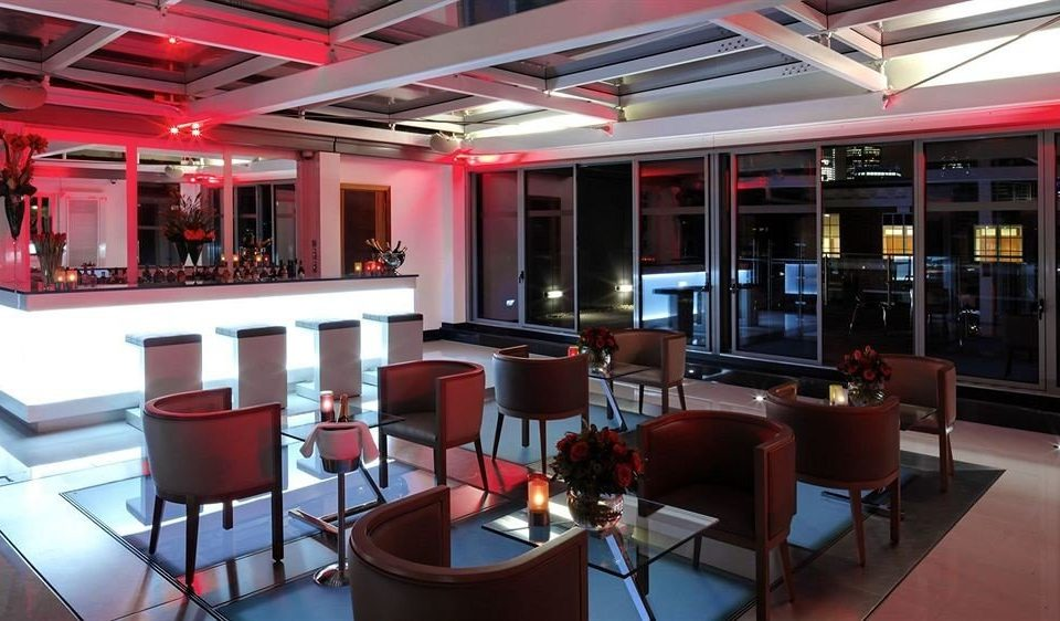 chair Dining red restaurant Bar function hall